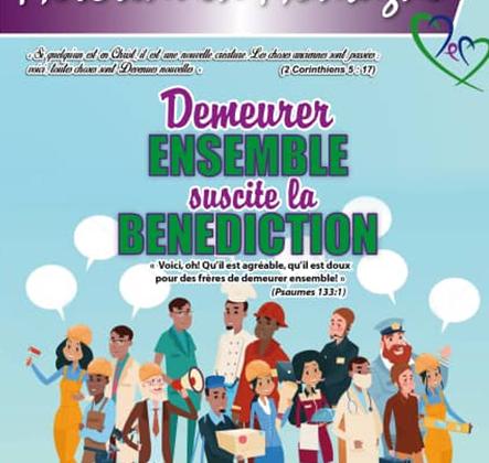 Demeurer ensemble suscite la bénédiction - Mercredi en Montagne Décembre 2019